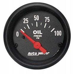 Manomètre de pression d'huile Autometer Z-Series 2634