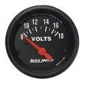 Voltmètre Autometer Z-Series 2645
