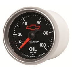 Manomètre de pression d'huile Autometer GM 3621-00406