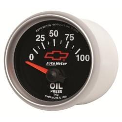 Manomètre de pression d'huile Autometer GM 3627-00406