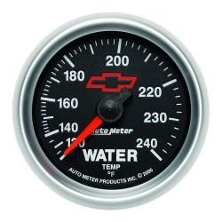 Manomètre de température d'eau Autometer GM 3632-00406