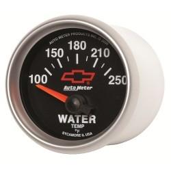 Manomètre de température d'eau Autometer GM 3637-00406