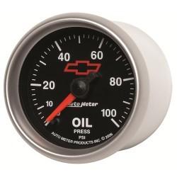 Manomètre de pression d'huile Autometer GM 3653-00406