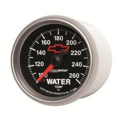 Manomètre de température d'eau Autometer GM 3655-00406