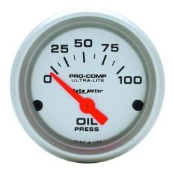 Manomètre de pression d'huile Autometer Ultra Lite 4327