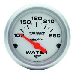 Manomètre de température d'eau Autometer Ultra Lite 4337