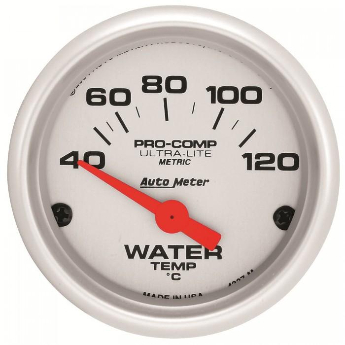 Manomètre de température d'eau Autometer Ultra Lite 4337-M