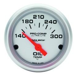 Manomètre de température d'huile Autometer Ultra Lite 4348