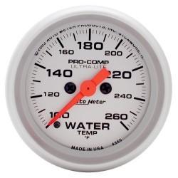 Manomètre de température d'eau Autometer Ultra Lite 4355