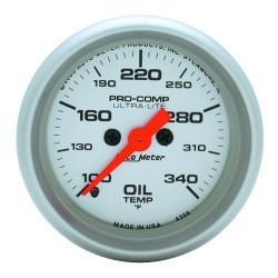 Manomètre de température d'huile Autometer Ultra Lite 4356