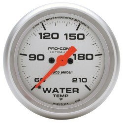 Manomètre de température d'eau Autometer Ultra Lite 4369
