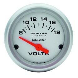 Voltmètre Autometer Ultra Lite 4391
