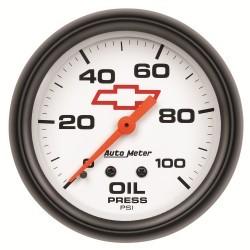 Manomètre de pression d'huile Autometer GM 5821-00406