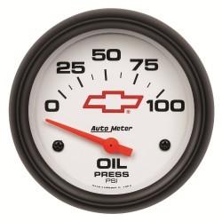 Manomètre de pression d'huile Autometer GM 5827-00406