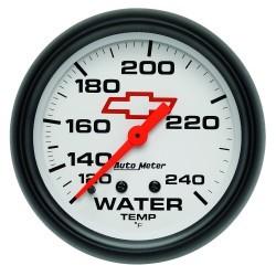 Manomètre de température d'eau Autometer GM 5832-00406