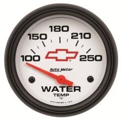 Manomètre de température d'eau Autometer GM 5837-00406