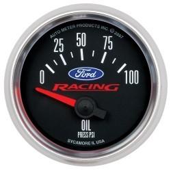 Manomètre de pression d'huile Autometer Ford Racing 880076