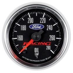 Manomètre de température d'huile Autometer Ford Racing 880079
