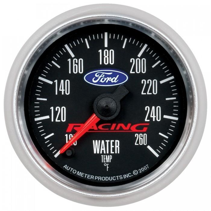 Manomètre de température d'eau Autometer Ford Racing 880086