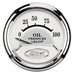 Manomètre de pression d'huile Autometer Ford MasterPiece 880352