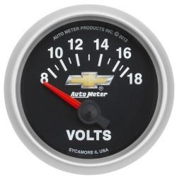 Voltmètre Autometer Copo Camaro 880444