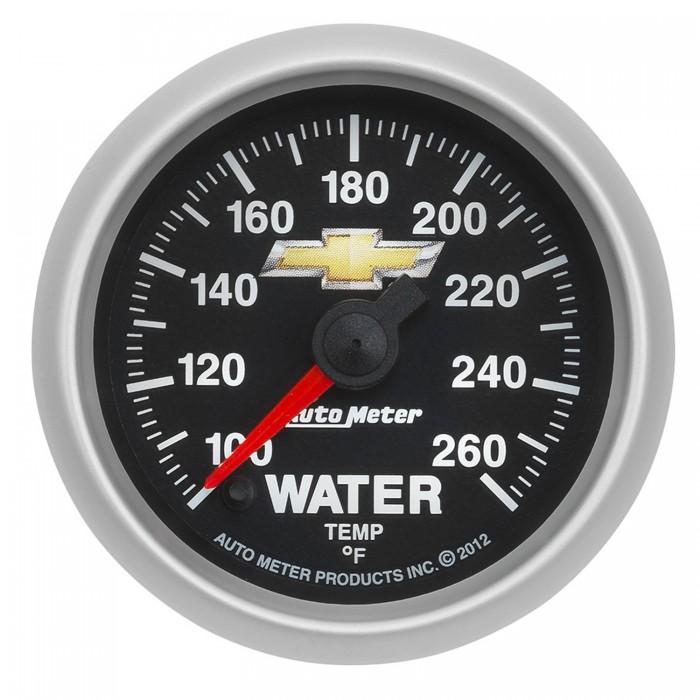 Manomètre de température d'eau Autometer Copo Camaro 880446