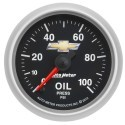 Manomètre de pression d'huile Autometer Copo Camaro 880447