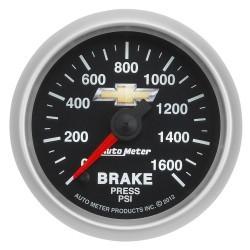Manomètre de pression de frein Autometer Copo Camaro 880450