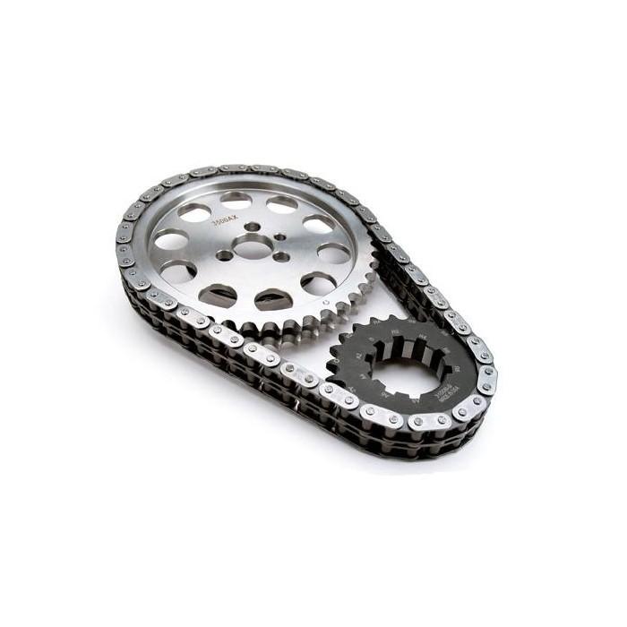 Kit pignons et chaîne distribution Comp Cams ajustable 7100