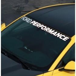 Bandeau de pare-brise Ford Performance M-1820-MB