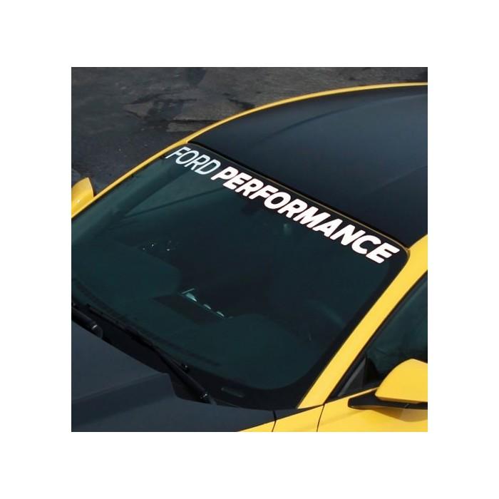 choisir le dernier hot-vente dernier promotion spéciale Bandeau de pare-brise Ford Performance M-1820-MB - ARS Shop