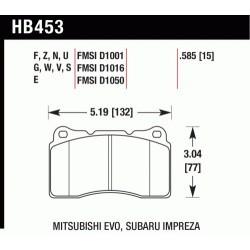 Plaquettes de frein Hawk Performance HB453N.585